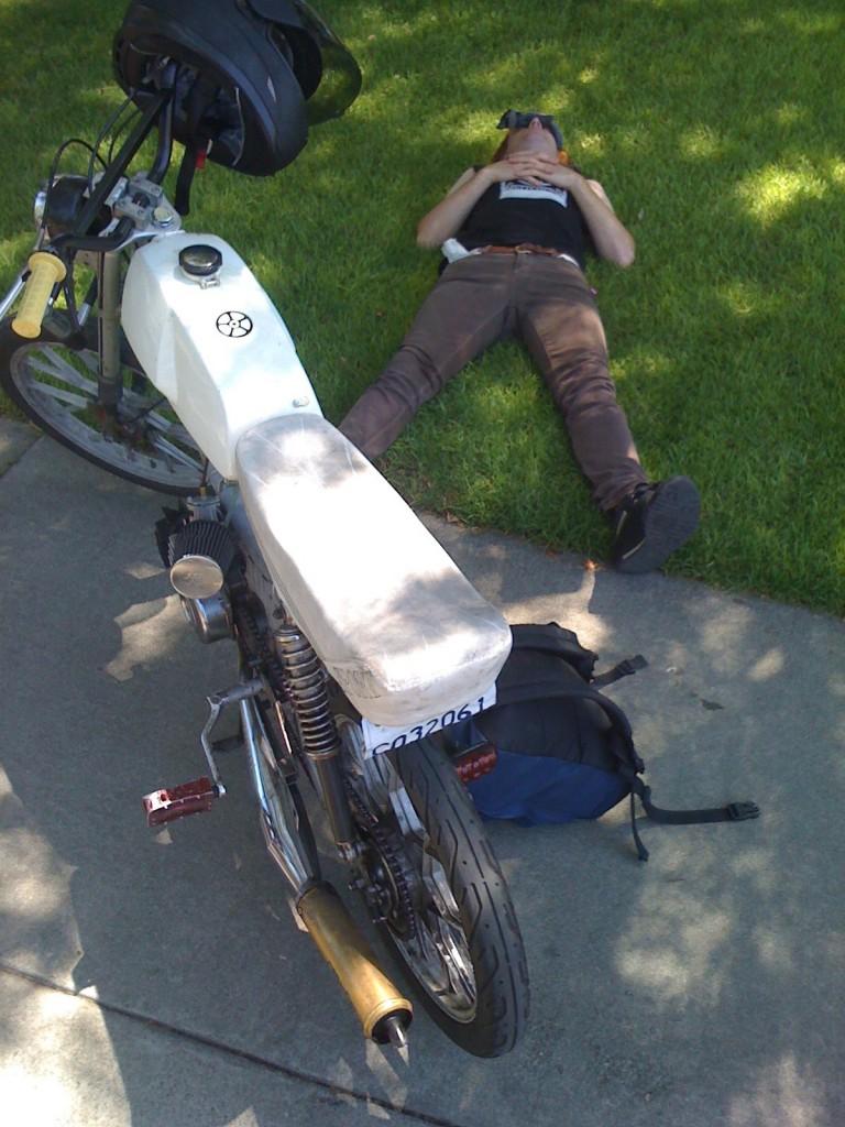 Troy Pre Ride Nap
